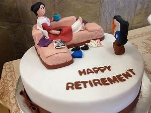 some cake ideas for retirement