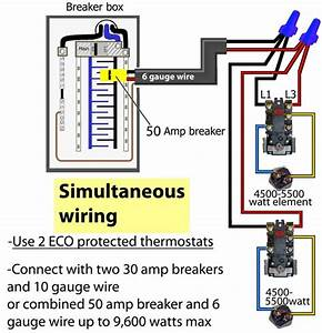Electric Hot Water Tank Wiring Diagram