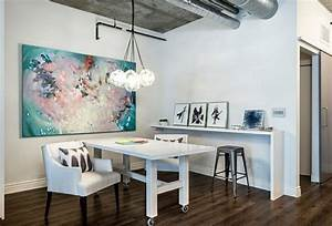 Idée Déco Bureau Maison : bureau maison de style industriel et moderne ~ Zukunftsfamilie.com Idées de Décoration