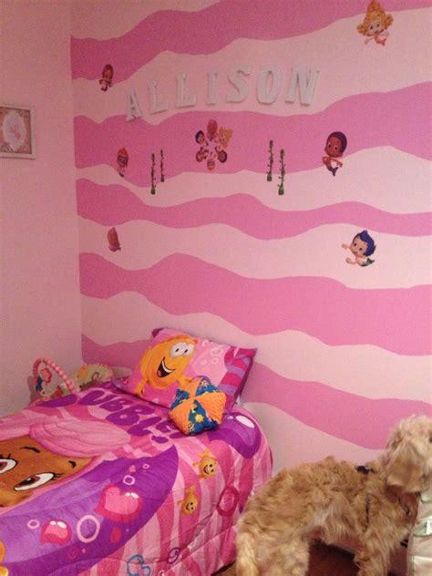 bubble guppies bedroom idea home decor toddler rooms
