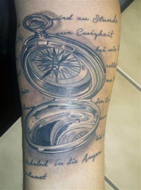 kompass tattoos und kompassbilder