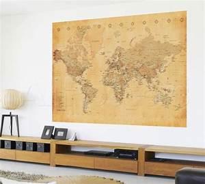 Papier Peint Planisphère : de 10 mooiste wereldkaarten ~ Teatrodelosmanantiales.com Idées de Décoration