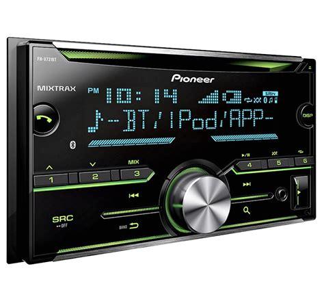 pioneer fh x731bt 2 din car stereo in dash cd receiver w built in bluetooth ebay