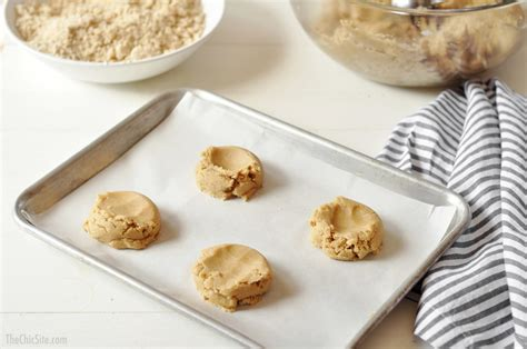 cookie cookies sheet dough baking cake coffee sugar crumb spoonful topping rounded then center