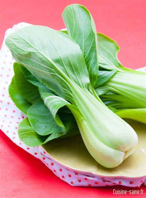 cuisine sans gluten le chou pak choï ou chou de chine cuisine saine
