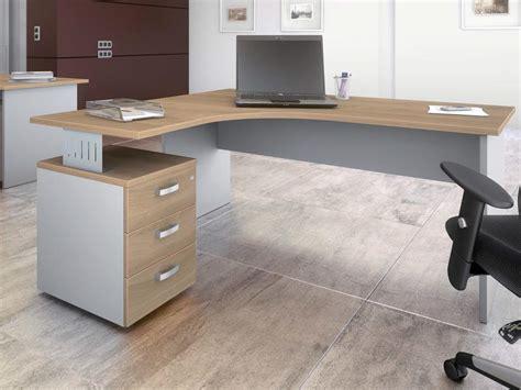 bureau avec retour pas cher meuble ferme pour ordinateur
