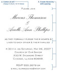 how to write wedding invitations the northern how to write a wedding invitation