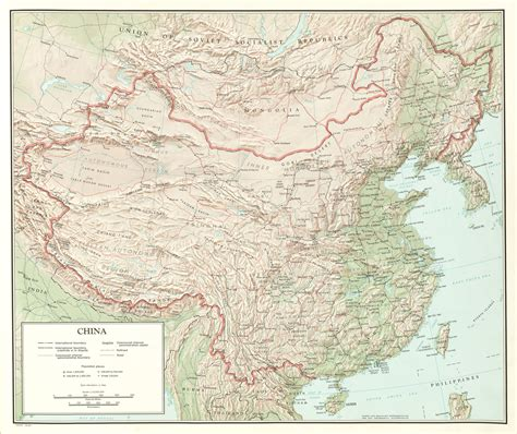 china map folio perry castaneda map collection ut