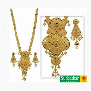Gold Long Necklace And Earrings Set 120 Gram|20 color|