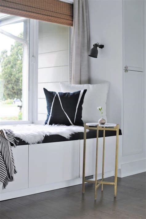 To be perfectly honest, i wasn't looking forward to this project after a failed diy drawer attempt in a laundry room years ago. DIY Window Seat with Storage out of IKEA Cabinets - Joyful ...