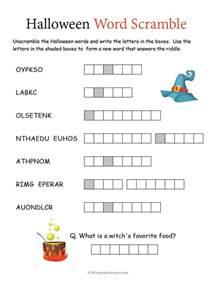 word scramble puzzle