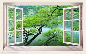 窗外风景源文件 风景 PSD分层素材 源文件图库 昵图网nipic com