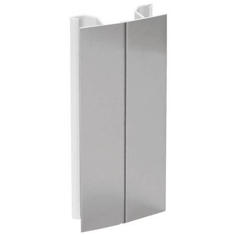 plinthe aluminium cuisine angle plinthe pvc aluminium emuca bricozor