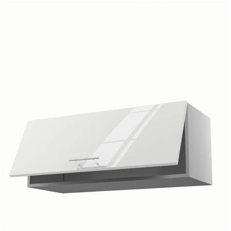 meuble haut cuisine bois meuble de cuisine haut blanc 1 porte h 35 x l 90 x p
