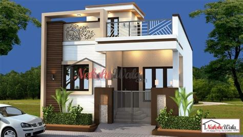 3d Front View For Single Floor