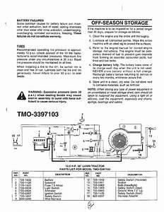Mtd 38 U0026quot  Lawn Tractor Parts