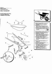 Craftsman Model 87803 Wheelbarrow Genuine Parts