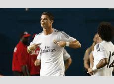 Cristiano Ronaldo aims defiant celebration at Jose