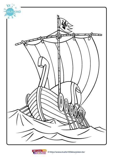 Drakenpoot Kleurplaat studio 100 kleurplaten wickie de viking