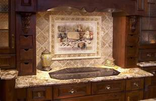 kitchen murals backsplash choosing the right kitchen backsplash tiles