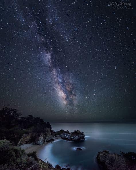 Milky Way Galaxy Long Exposure Photo Wallpaper