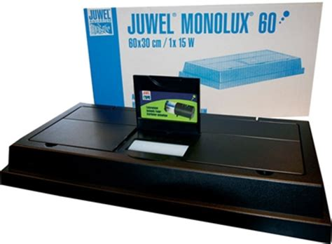 60 watt aquarium dierspullen nl juwel monolux lichtkap 60x30 zwart l