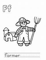 Farmer Coloring Hat Template Comments Coloringhome sketch template