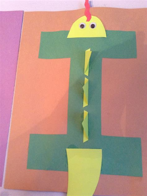 i is for iguana february 24 letter craft crafts for 202 | 548a8e60ce297495bb39952ce071b992