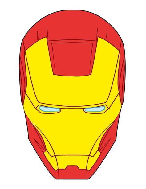 Ironman Mask Template by Iron Mask Fondant Search Bakery