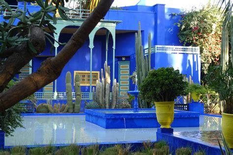 Yves Saintlaurent's Majorelle Garden In Marrakech Très
