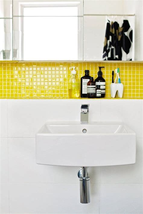 17 Best Ideas About Yellow Bathrooms On Pinterest Yellow