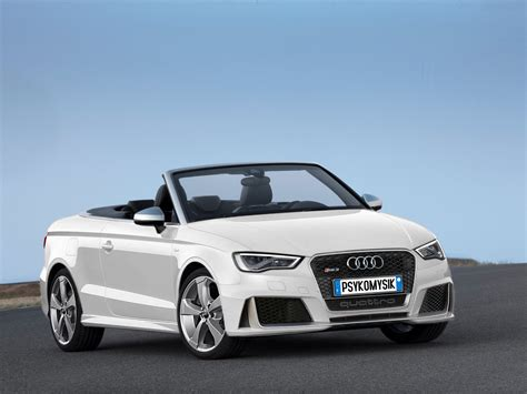 Rs3 Convertible by Audi Rs3 Convertible White By Psykomysik By Psykomysik