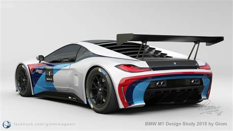 Bmw M1 Design Study Shows A Futuristic Supercar