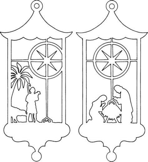 kun siluettene velegnet til glassmaleri christmas