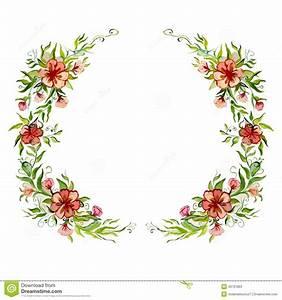 Guirlande Lumineuse Fleur : guirlande lumineuse de fleur d 39 aquarelle belle illustration stock image 43791863 ~ Teatrodelosmanantiales.com Idées de Décoration