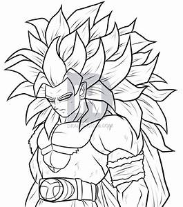 Draw Super Saiyan 5 Goku Step By Step Drawing Guide By