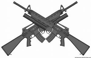 M16 cross - guns Fan Art (15602548) - Fanpop