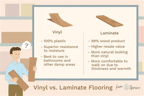 bathroom flooring ideas vinyl vs laminate flooring which is best
