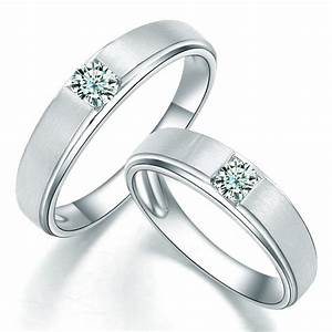 charming his and hers anniversary gift rings 020 carat With wedding rings real diamonds