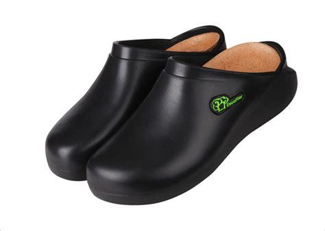 slip escoffier kitchen work chef shoes black mm
