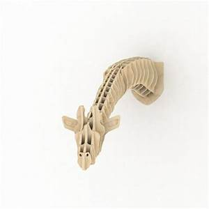 Trophée Animaux Carton : troph e t te de cerf bois design animales de carton arte de cuerdas et plano seriados ~ Melissatoandfro.com Idées de Décoration