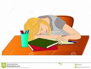 Sleeping Student Clipart – 101 Clip Art