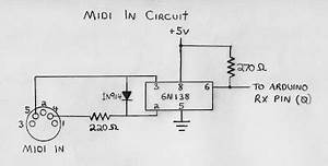 notes and volts fun with arduino midi input basics With midi circuit board