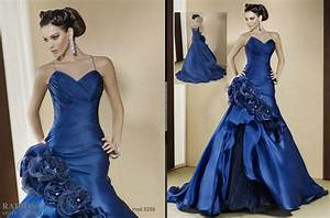 royal blue wedding dresses archives women39s style With wedding dresses with royal blue accents
