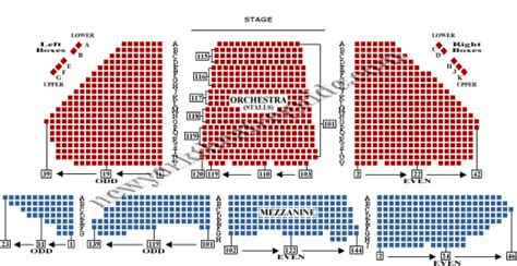 winter garden theatre seating plan newyorktheaterguidecom
