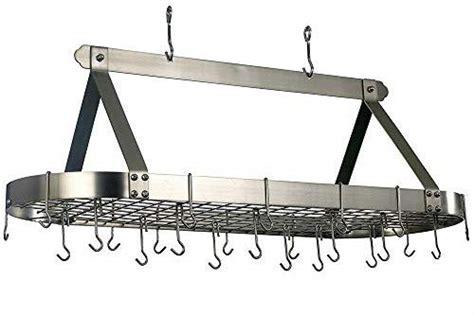 dutch oval hanging pot rack  grid  cooks pantry
