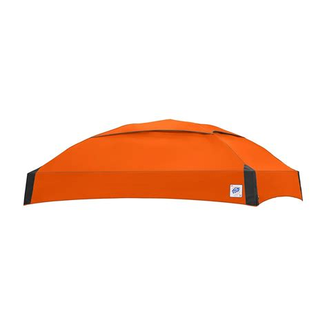 buy replacement top      dome instant shelter canopy top steel orange  cheap