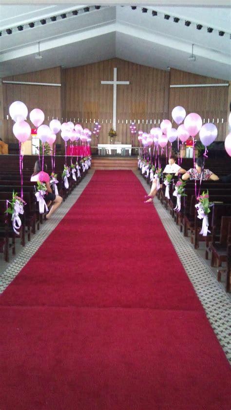 Simple Church Wedding Decorations And Sibu Sarawak