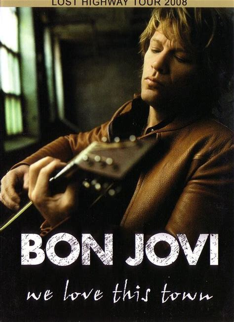 Bon Jovi Love This Town Dvd Digipak Giginjapan