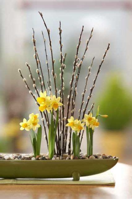 cool daffodils decor ideas   spring digsdigs